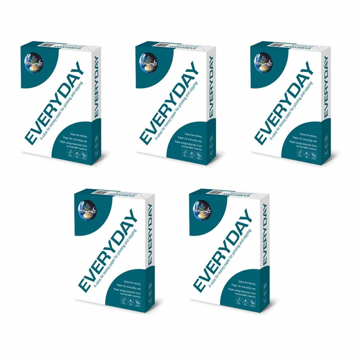 Elements Everyday A4 80gsm Pack of 5