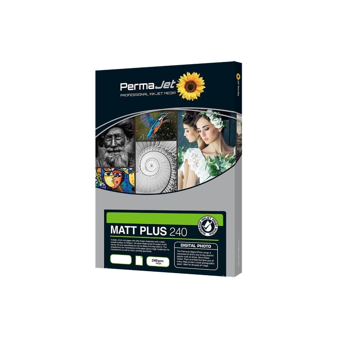 PermaJet Matt Plus 240 Paper A4 50 Sheets