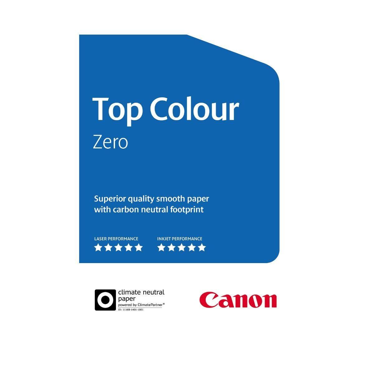 Canon Top Colour Zero Paper A4 100gsm FSC 500 Sheets