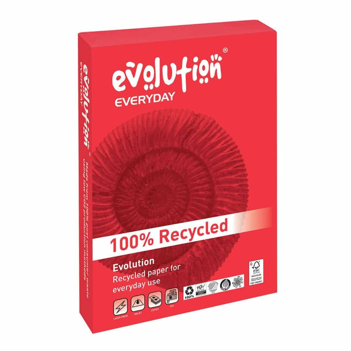 Steinbeis Evolution Recycled A3 Copier Paper 80gsm White Ream