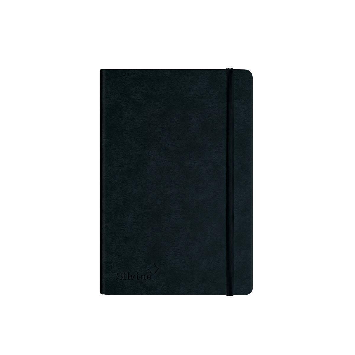 Silvine Premium Executive Notebook A5 Pack of 5