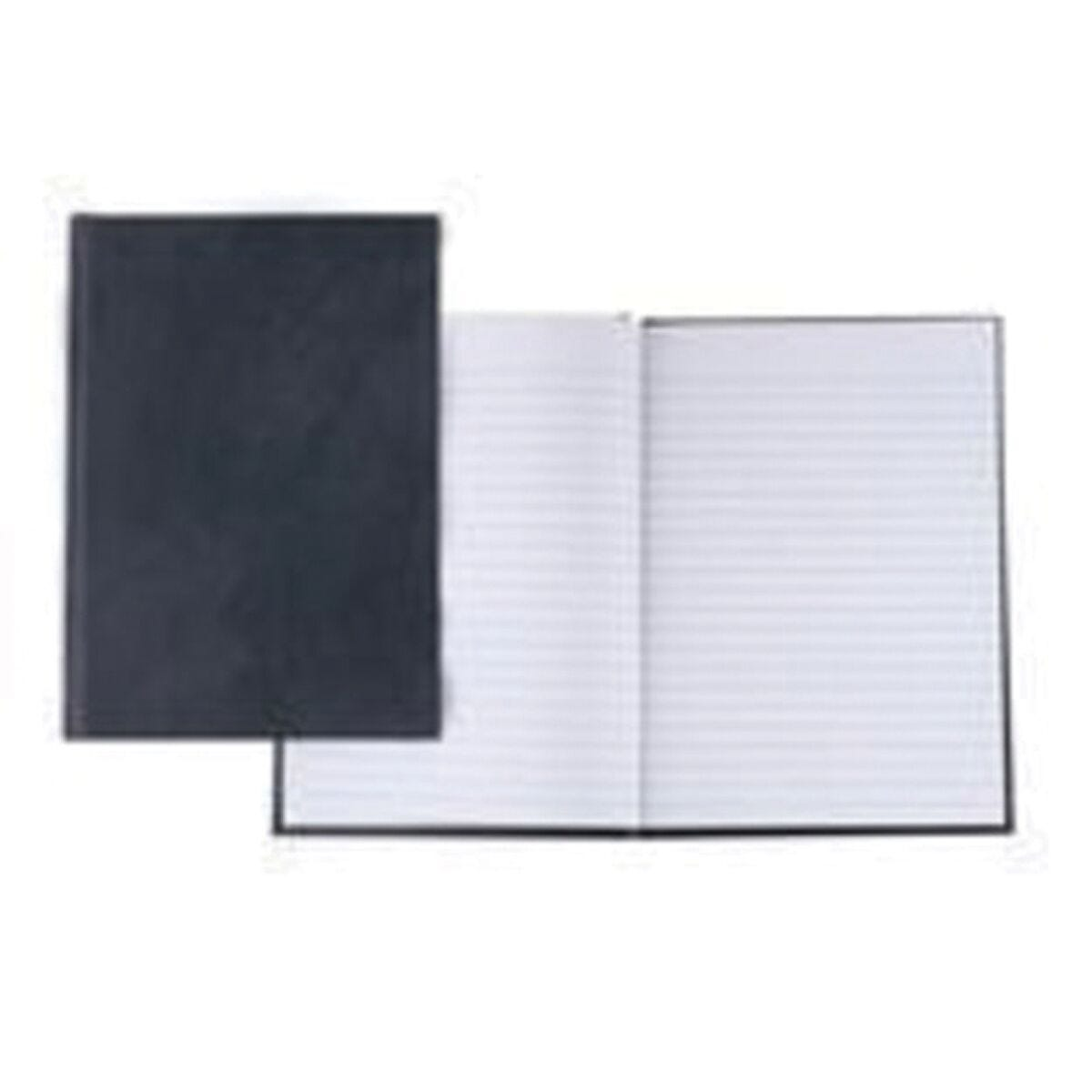 Q-Connect A5 Notebook 192 pages Casebound Feint Ruled