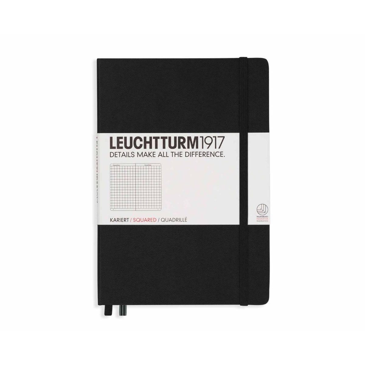 Leuchtturm 1917 Notebook Squared A5 Black