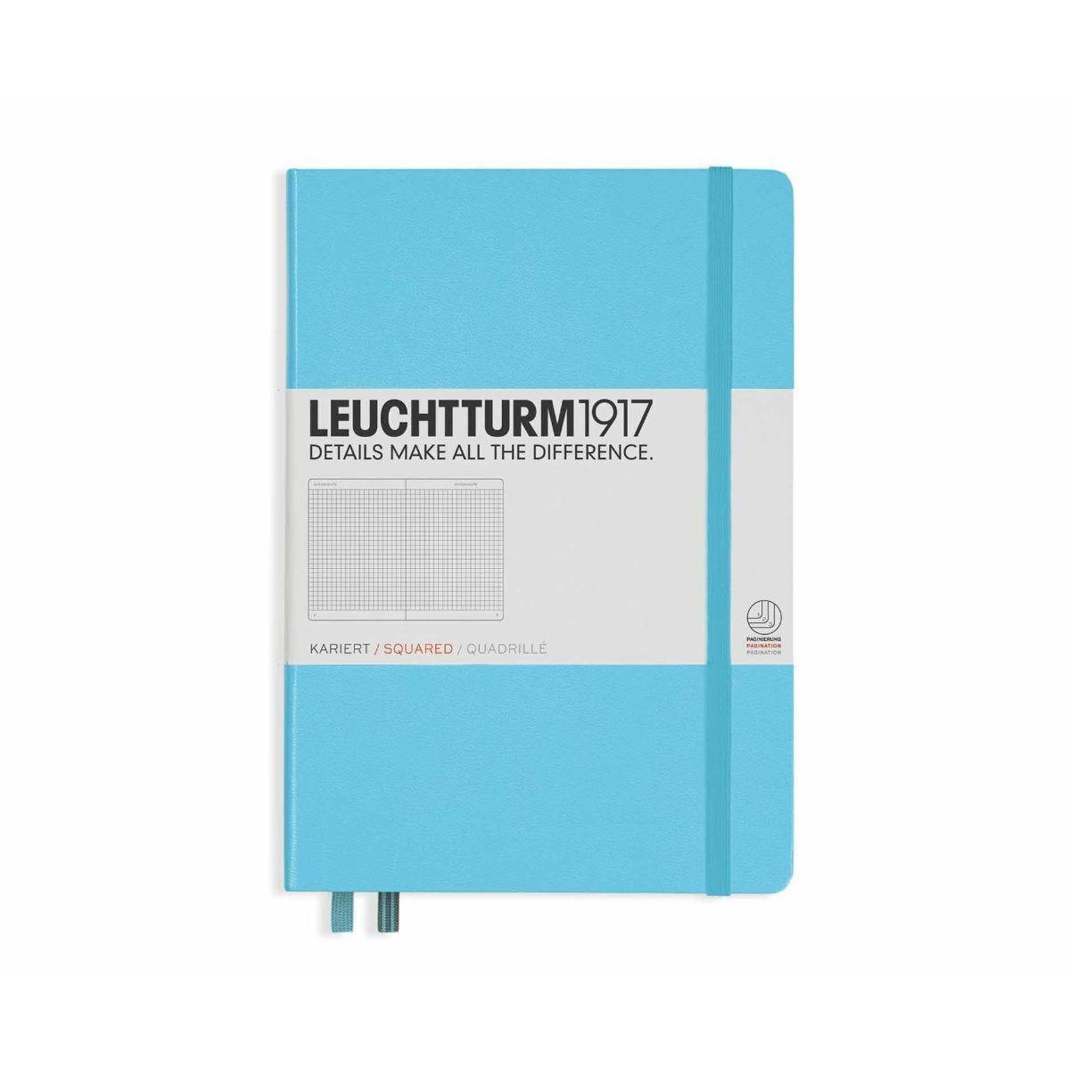 Leuchtturm 1917 Notebook Squared A5 Ice Blue