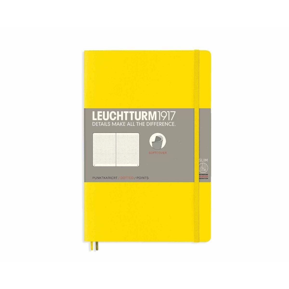 Leuchtturm1917 Soft Cover Notebook Dotted B6 Plus