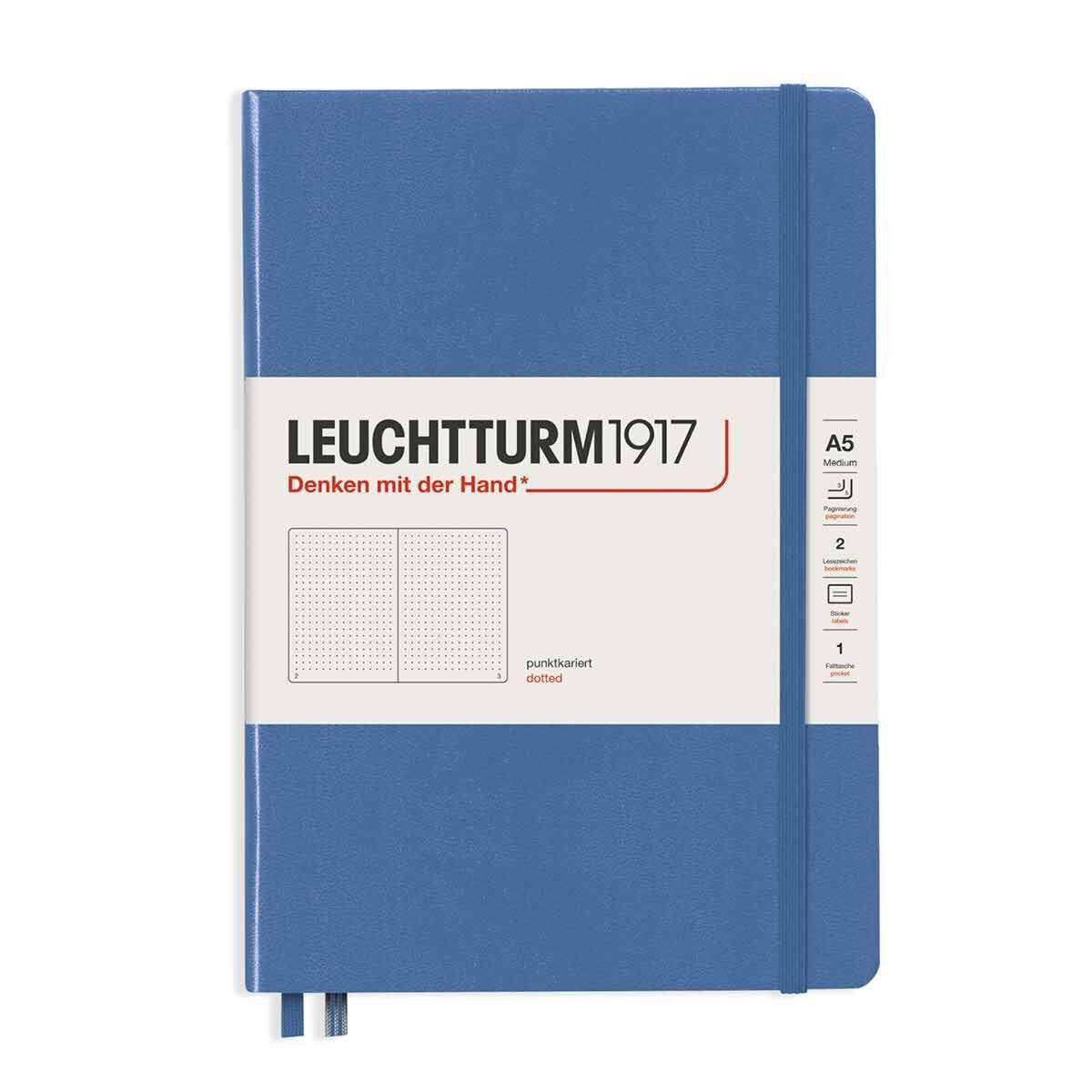 Leuchtturm1917 Hard Cover Notebook Dotted A5