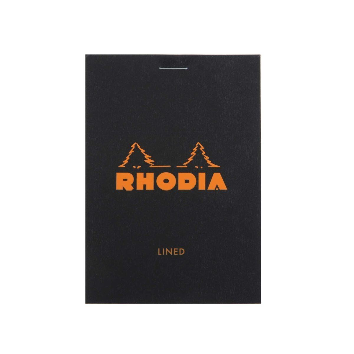 Rhodia No 12 Head Stapled Pad 160 Pages 80 Sheets 5x12cm