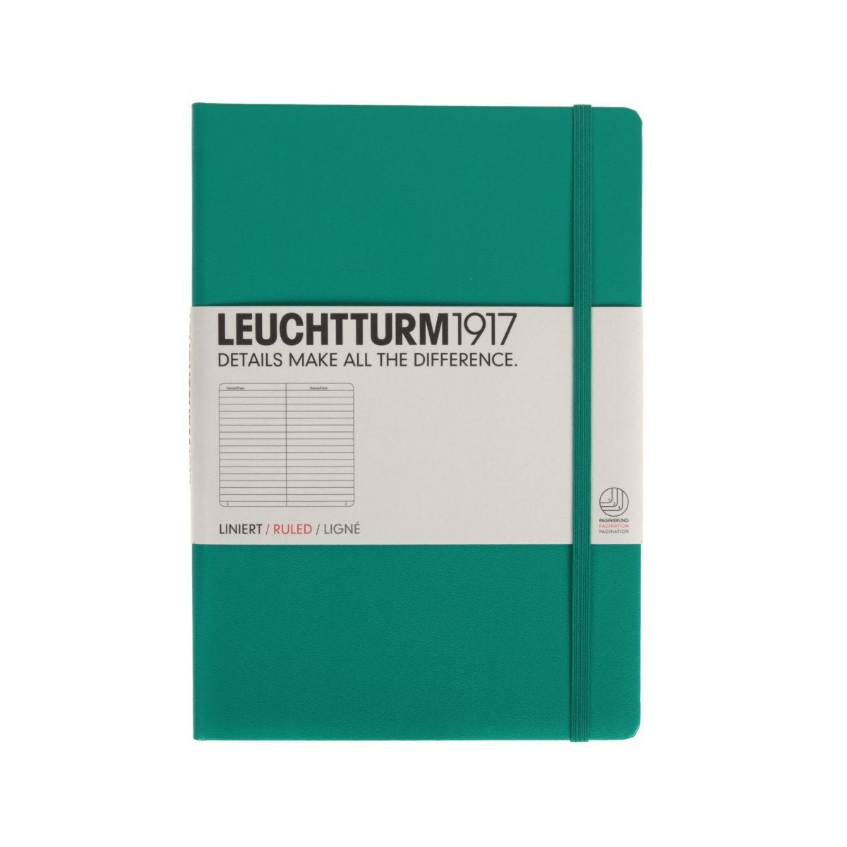 Leuchtturm 1917 Notebook Ruled A5