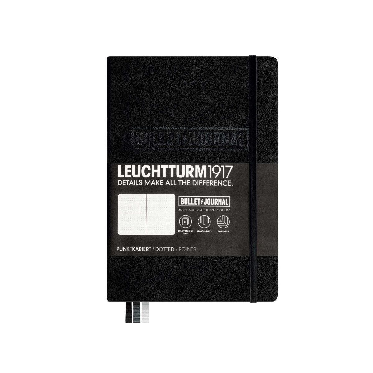 Leuchtturm Bullet Journal Notebook A5 Black