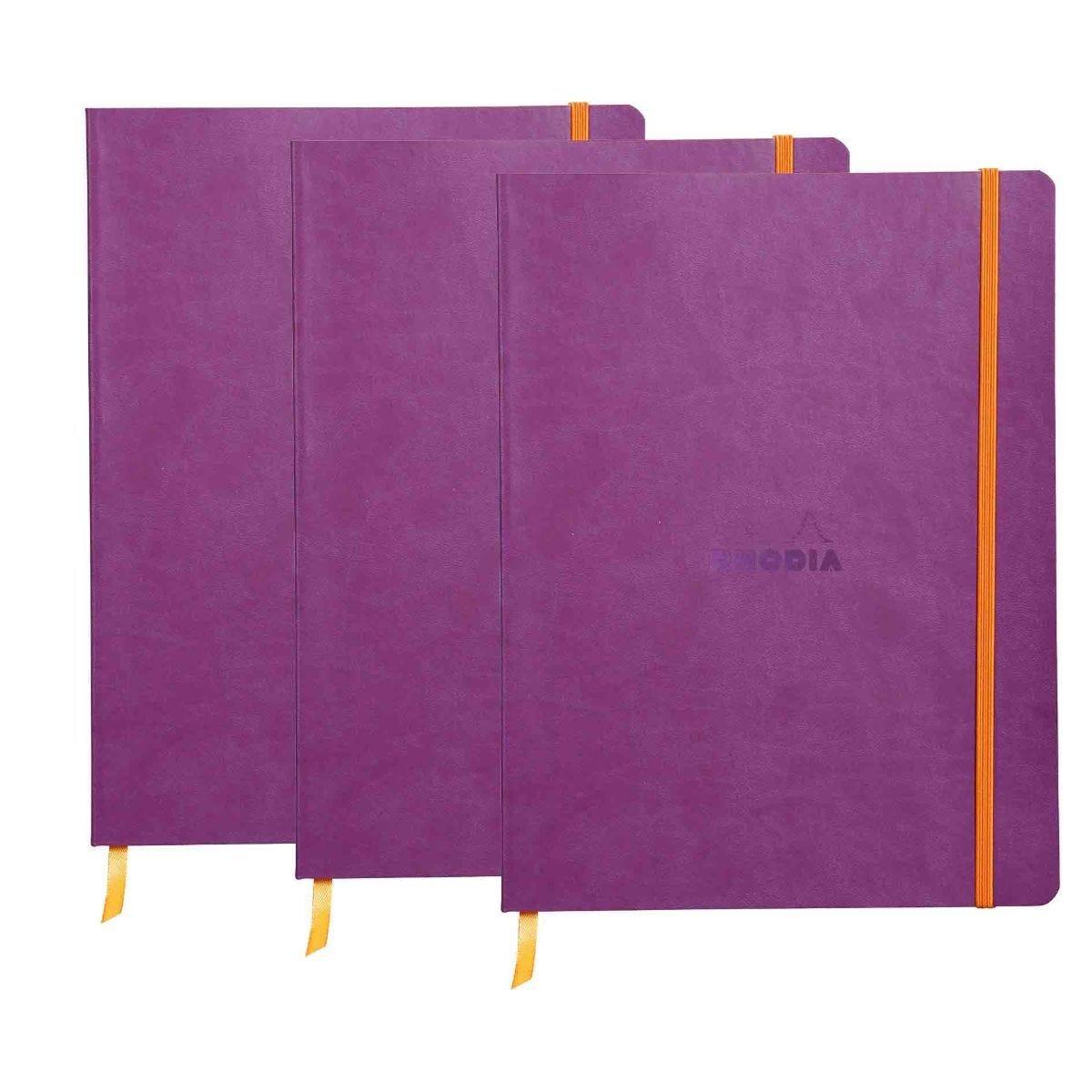 Rhodiarama B5 Ruled Notebook Purple