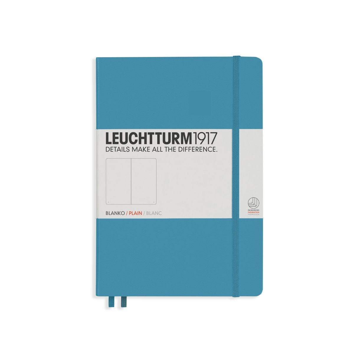 Leuchtturm 1917 Notebook Plain A5 Nordic Blue