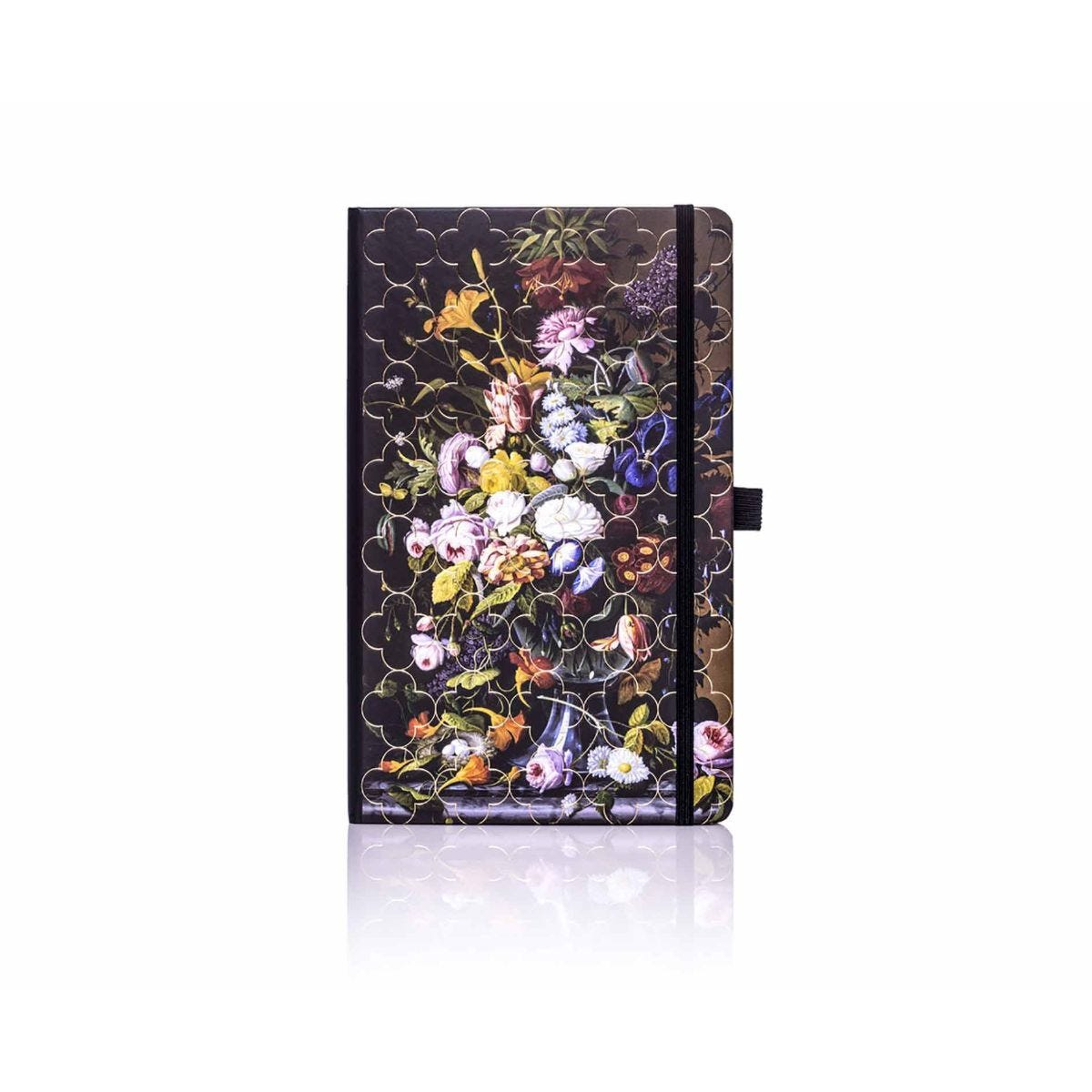Castelli Vintage Floral Ruled Notebook A5