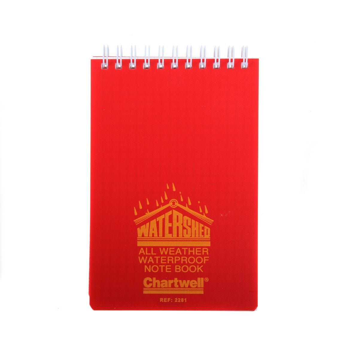 Chartwell Watershed Waterproof Ruled Notebook 156x101mm