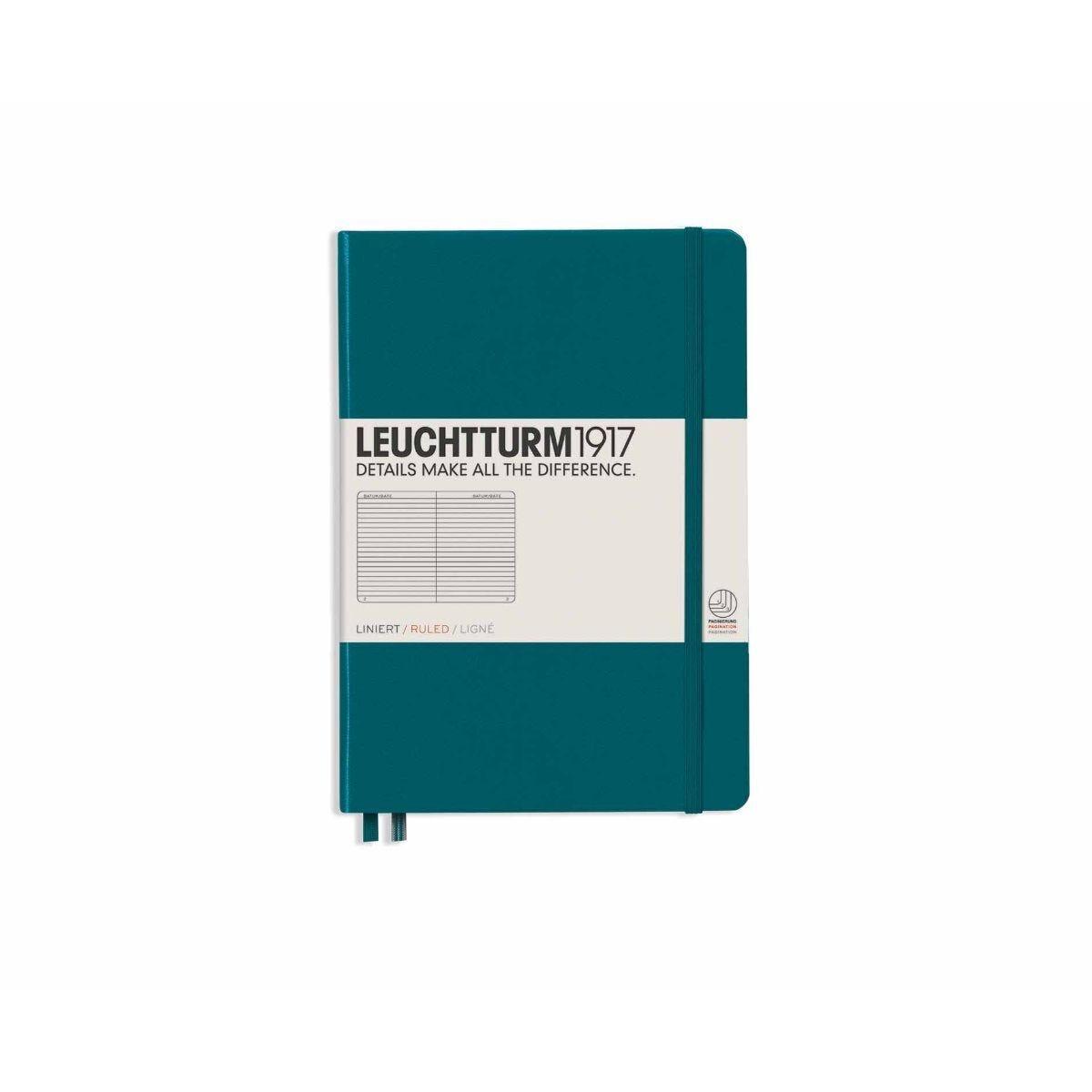 Leuchtturm1917 Hardcover Notebook Ruled A5