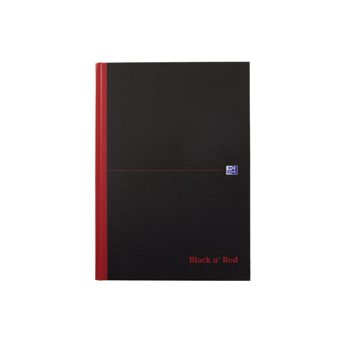 Oxford Black n Red B5 Wirebound Notebook 180 Pages Pack of 5