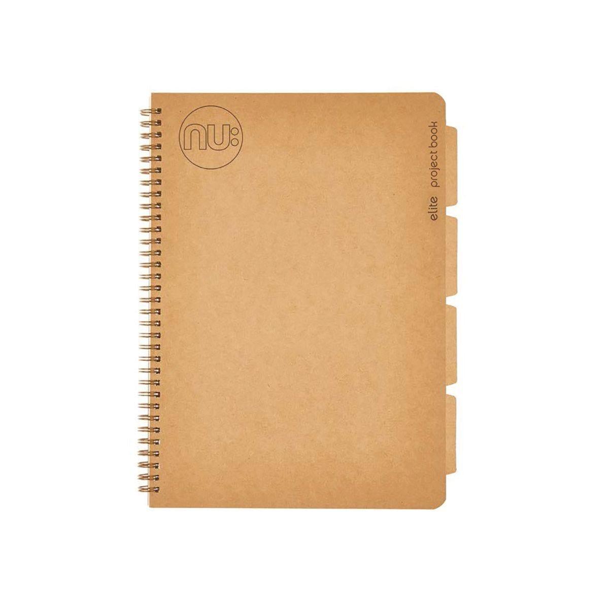 Nu Elite Kraft Project Book A4 180 page
