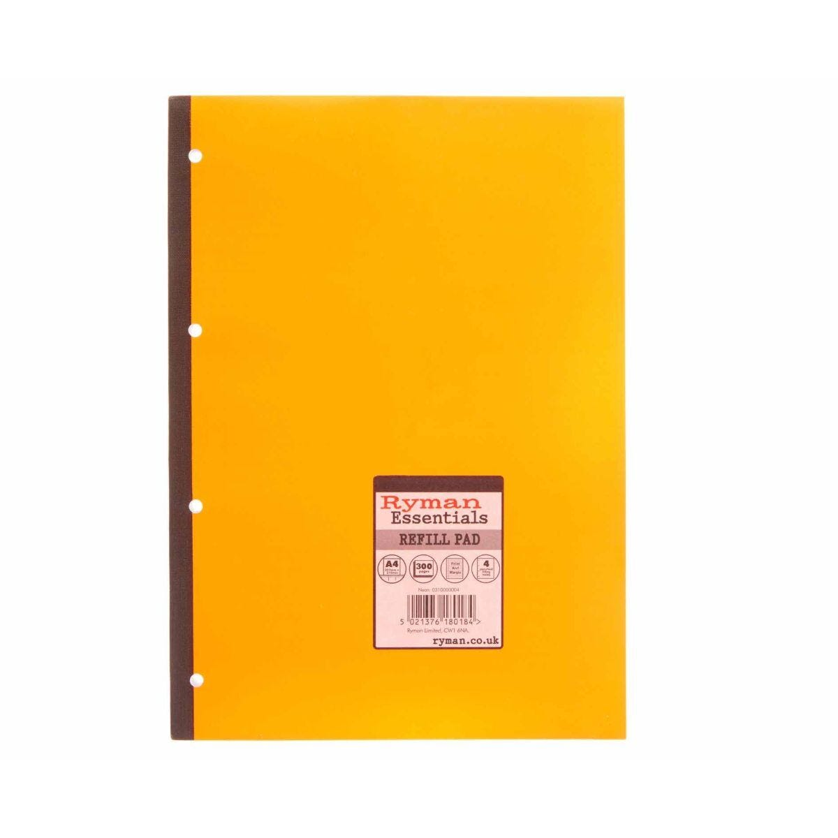 Ryman Essentials Promo Pad A4 300 Page Pack of 6