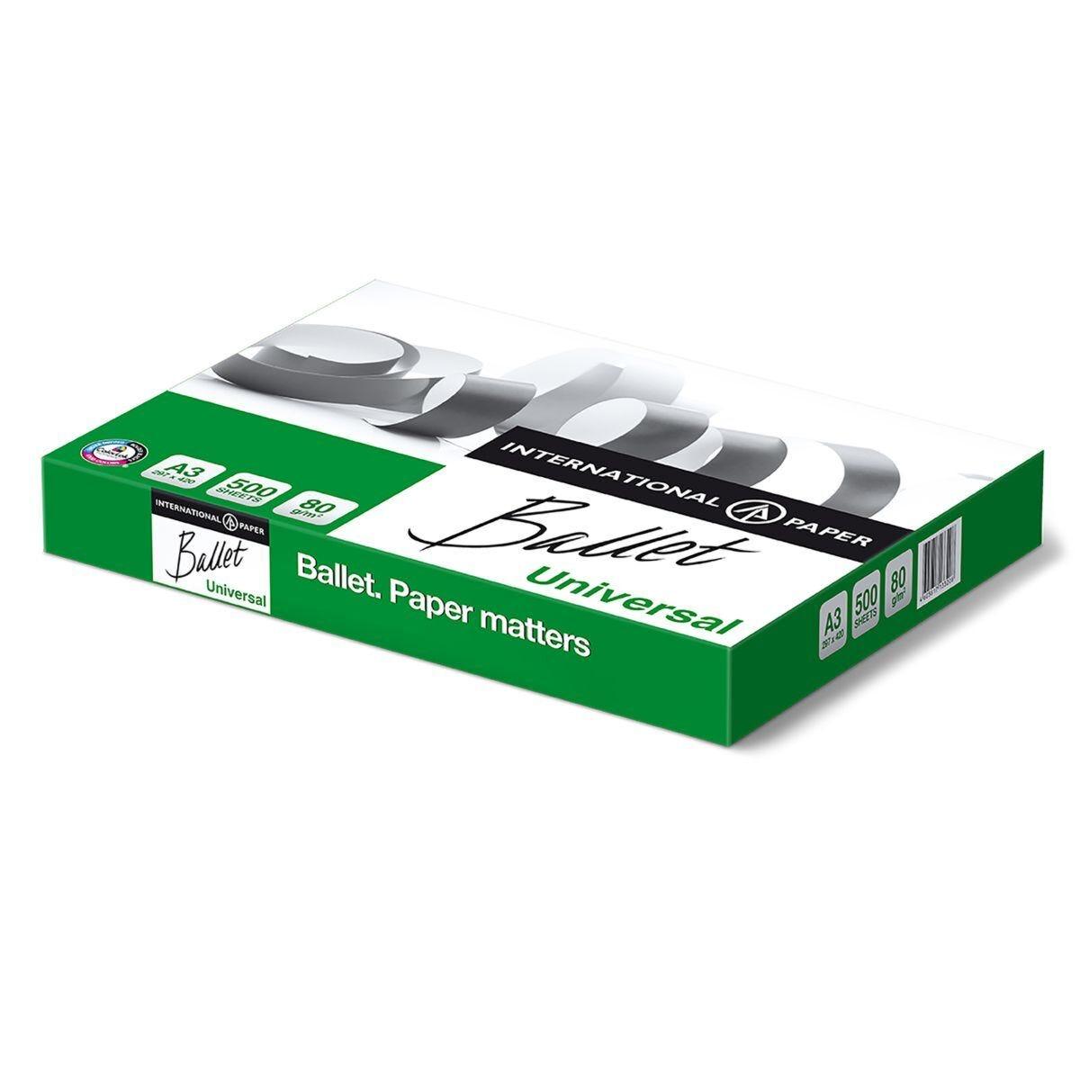 Ballet Universal A3 80gsm 5 x 500sheets per box
