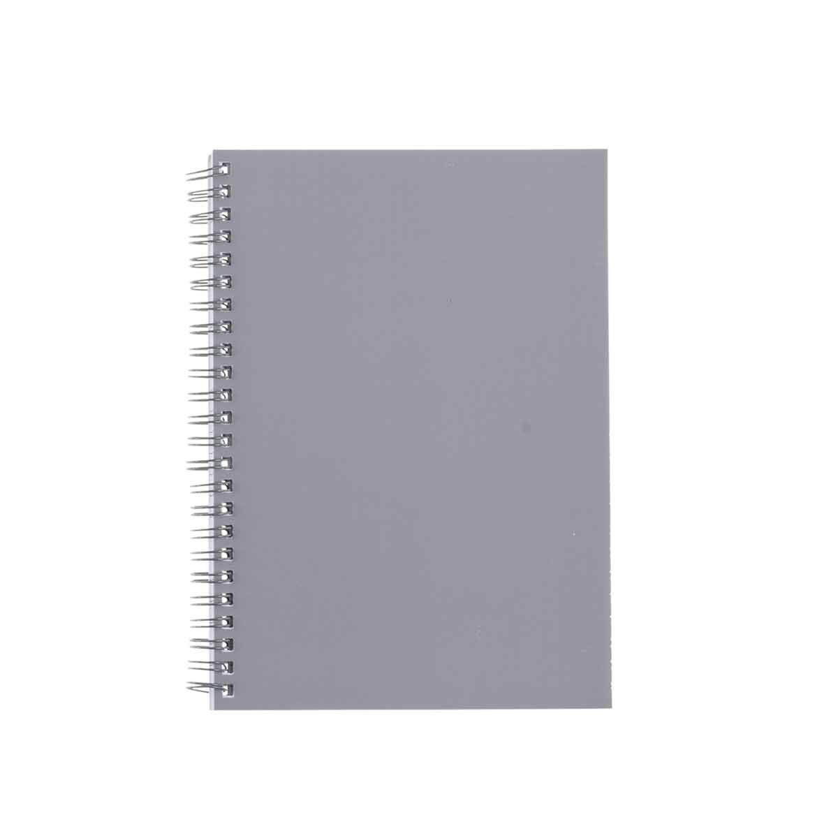 Ryman Pastel Essentials Notebook Ruled A5 Grey