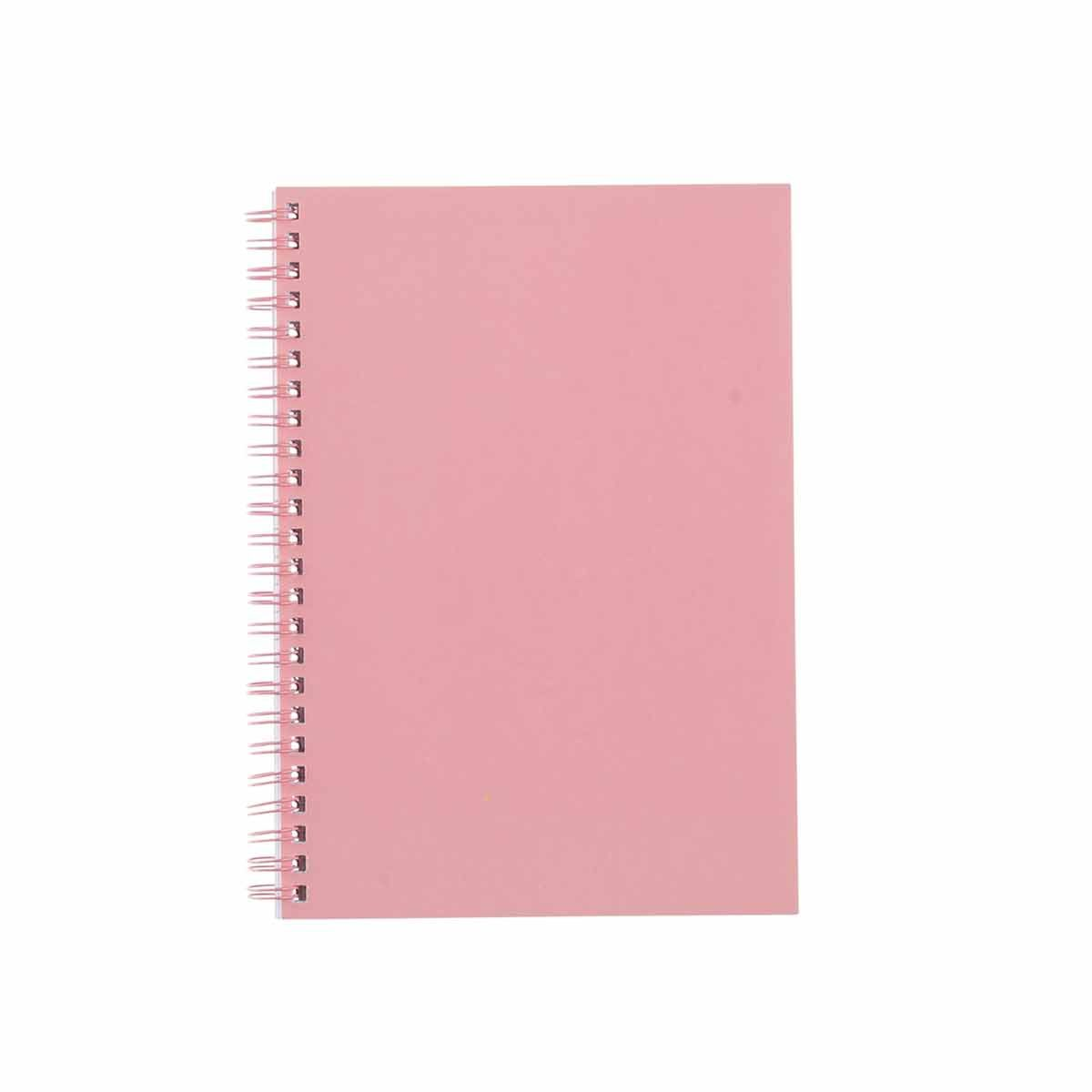 Ryman Pastel Essentials Notebook Ruled A5 Rose