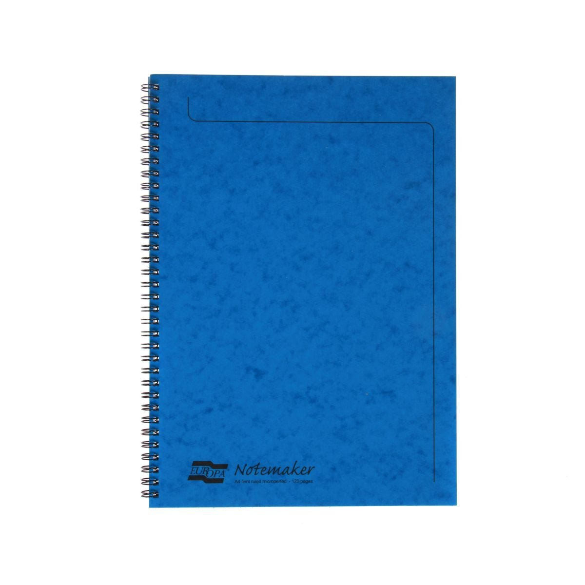 Europa A4 Notemaker 120 Pages 60 Sheets 90gsm Blue
