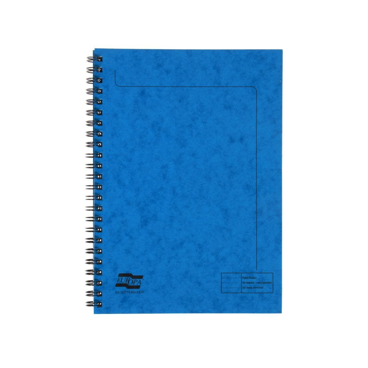 Europa A5 Notemaker 120 Pages 60 Sheets 90gsm Blue