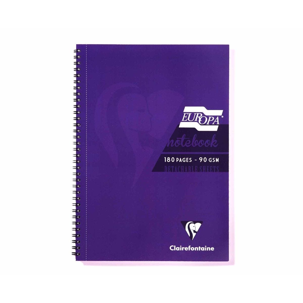 Europa Notebook A4 Purple
