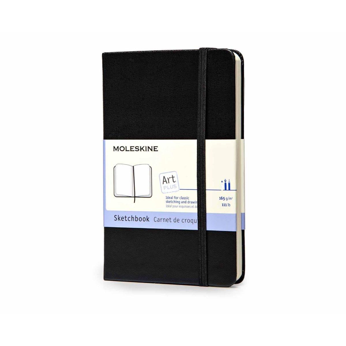 Moleskine Sketchbook Pocket Notebook  80 Pages 40 Sheets