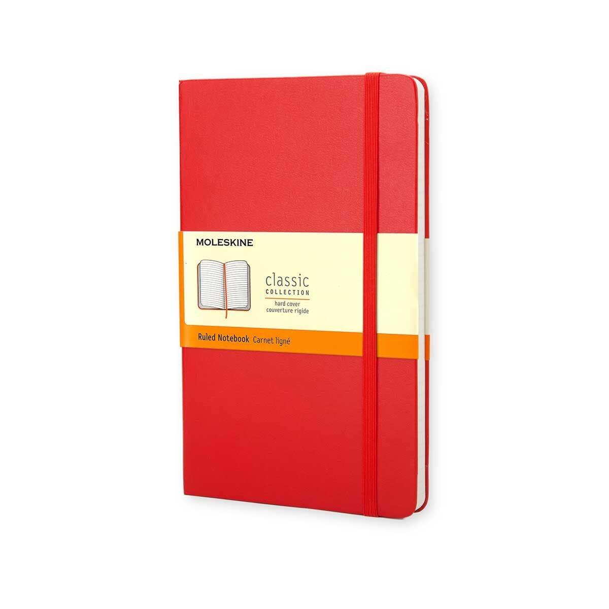 Moleskine Notebook Pocket Plain Red