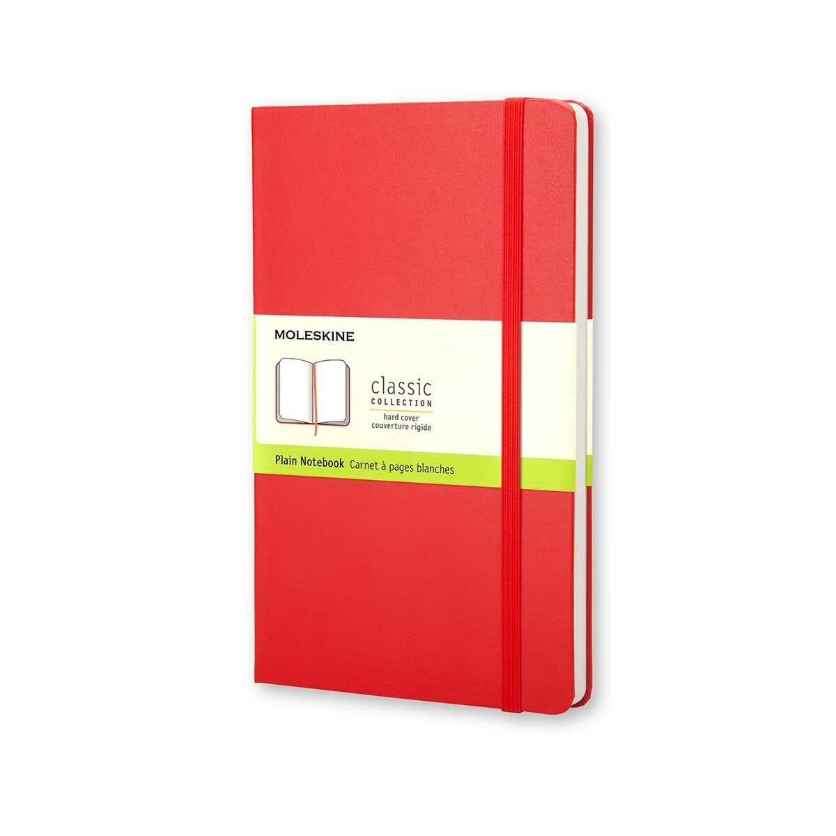 Moleskine Notebook Large Plain 210x130mm 240 Pages 120 Sheets