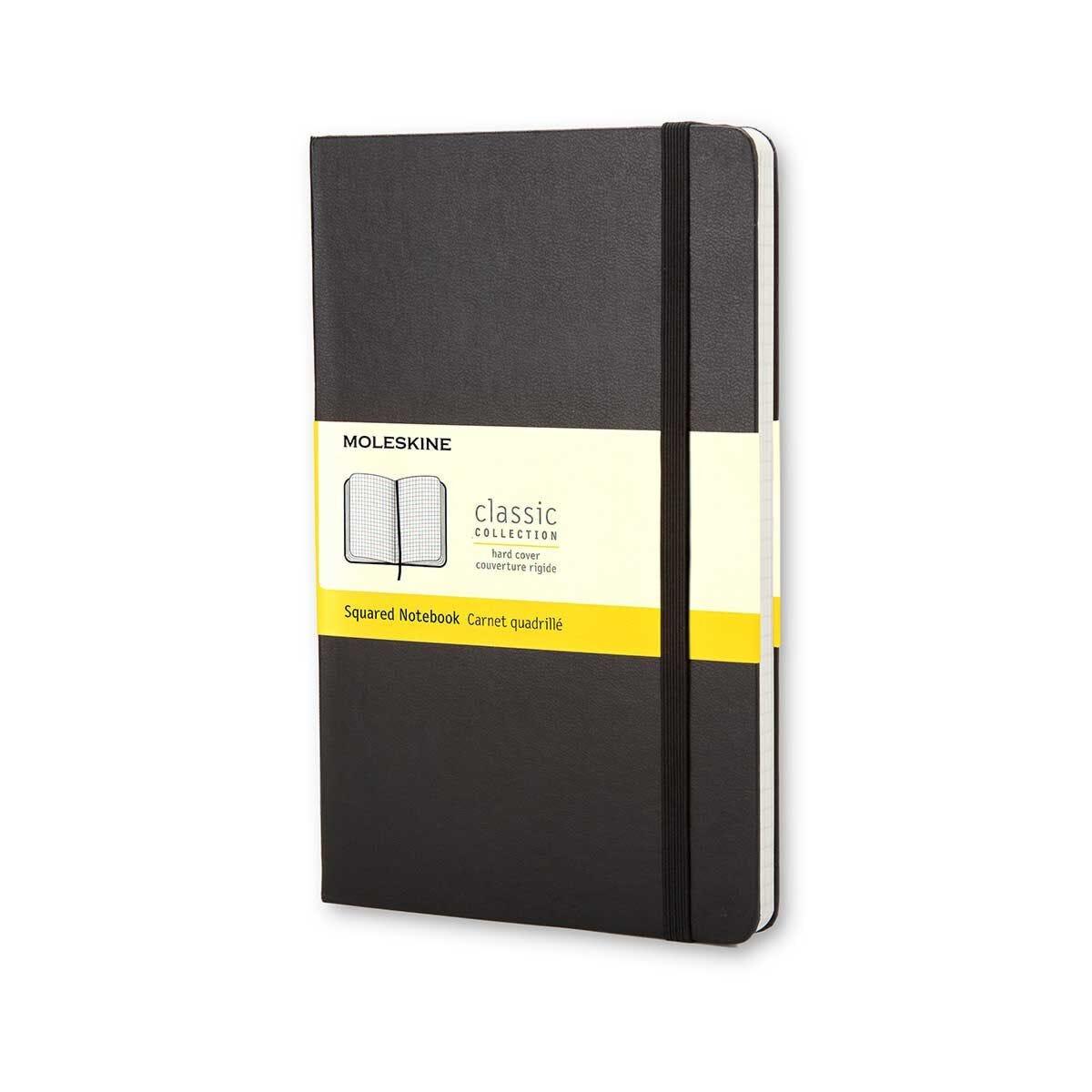Moleskine Squared Pocket Notebook 192 Pages 96 Sheets