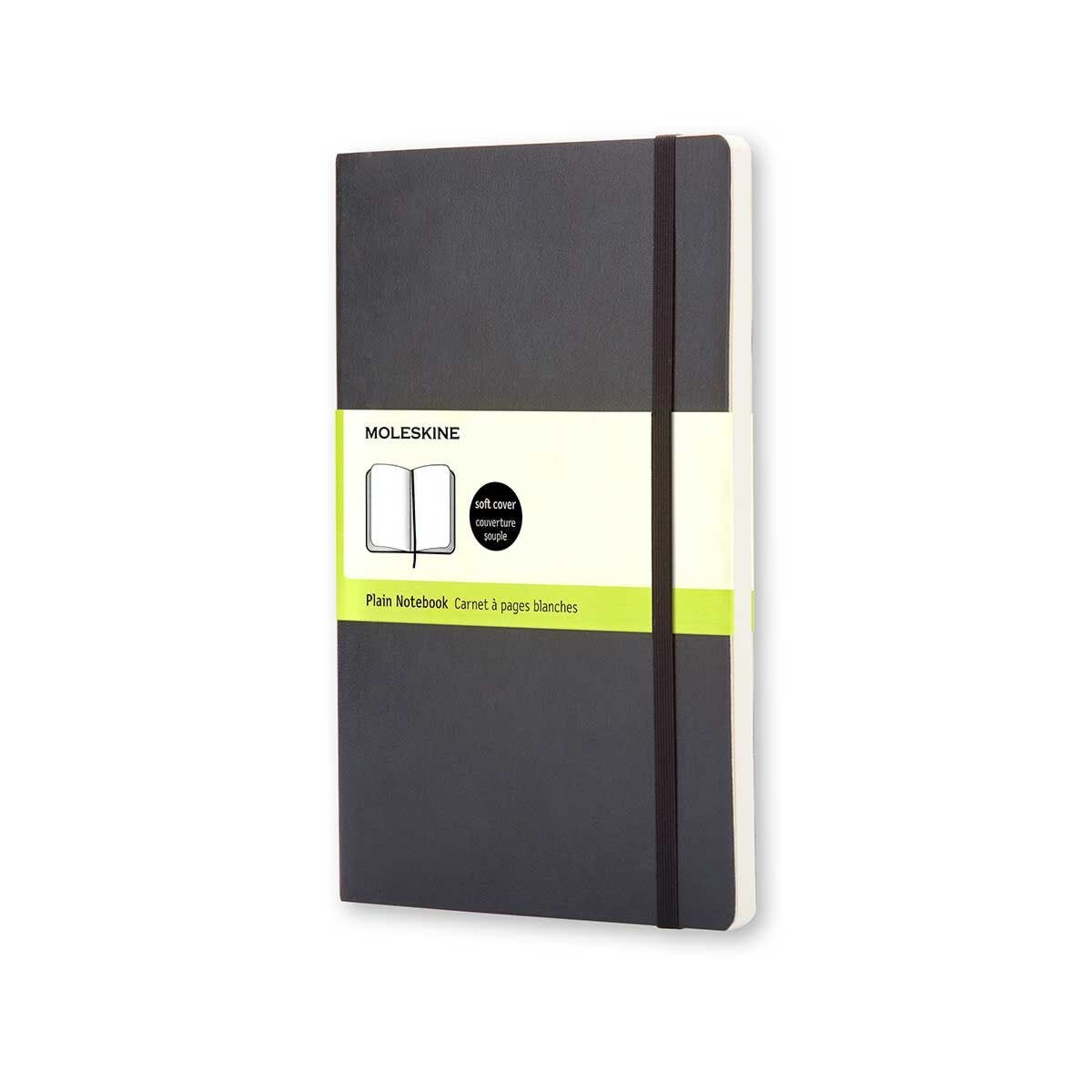 Moleskine Soft Cover Plain Pocket Notebook 192 Pages 96 Sheets