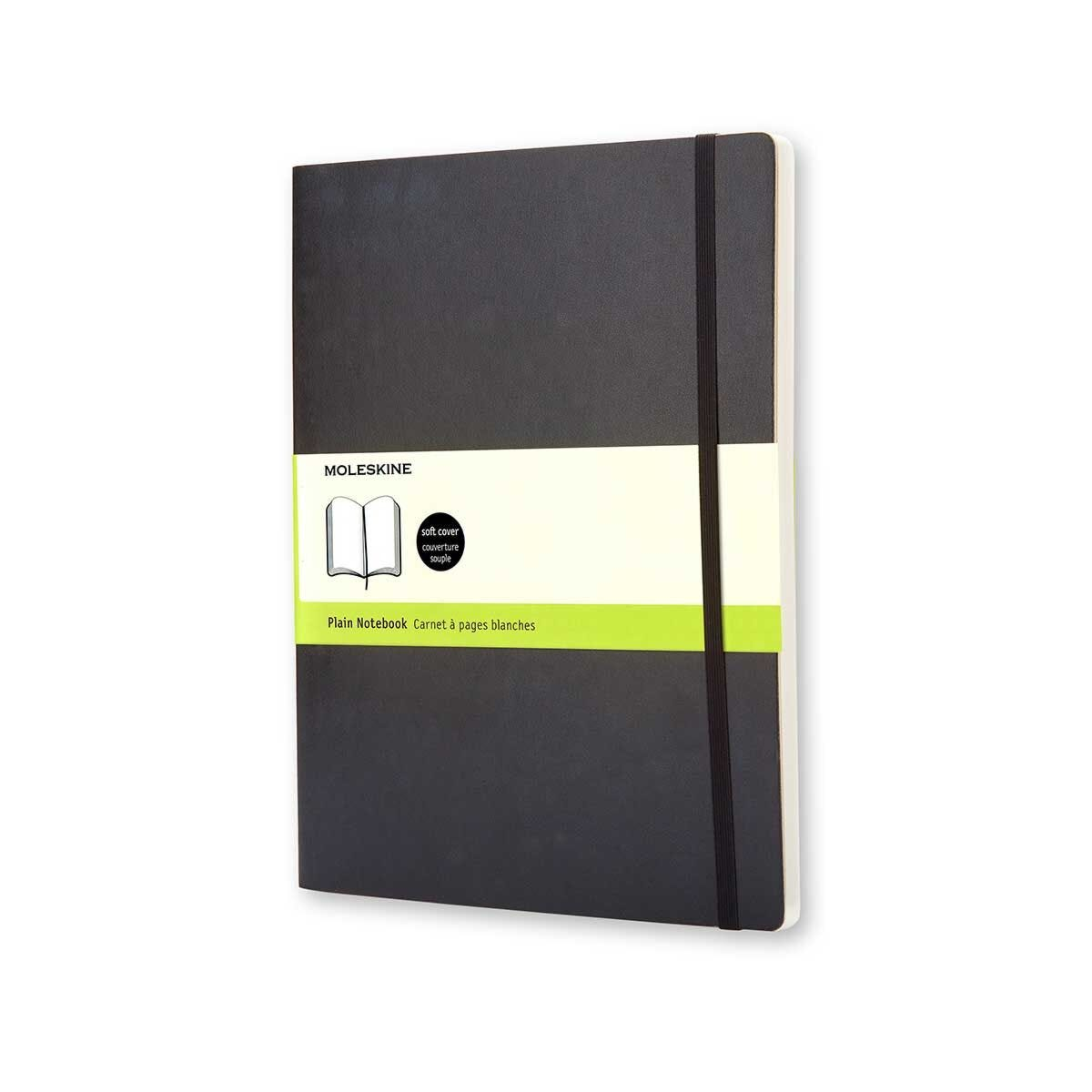 Moleskine Soft Cover Plain Notebook Extra Large 192 Pages 96 Sheets