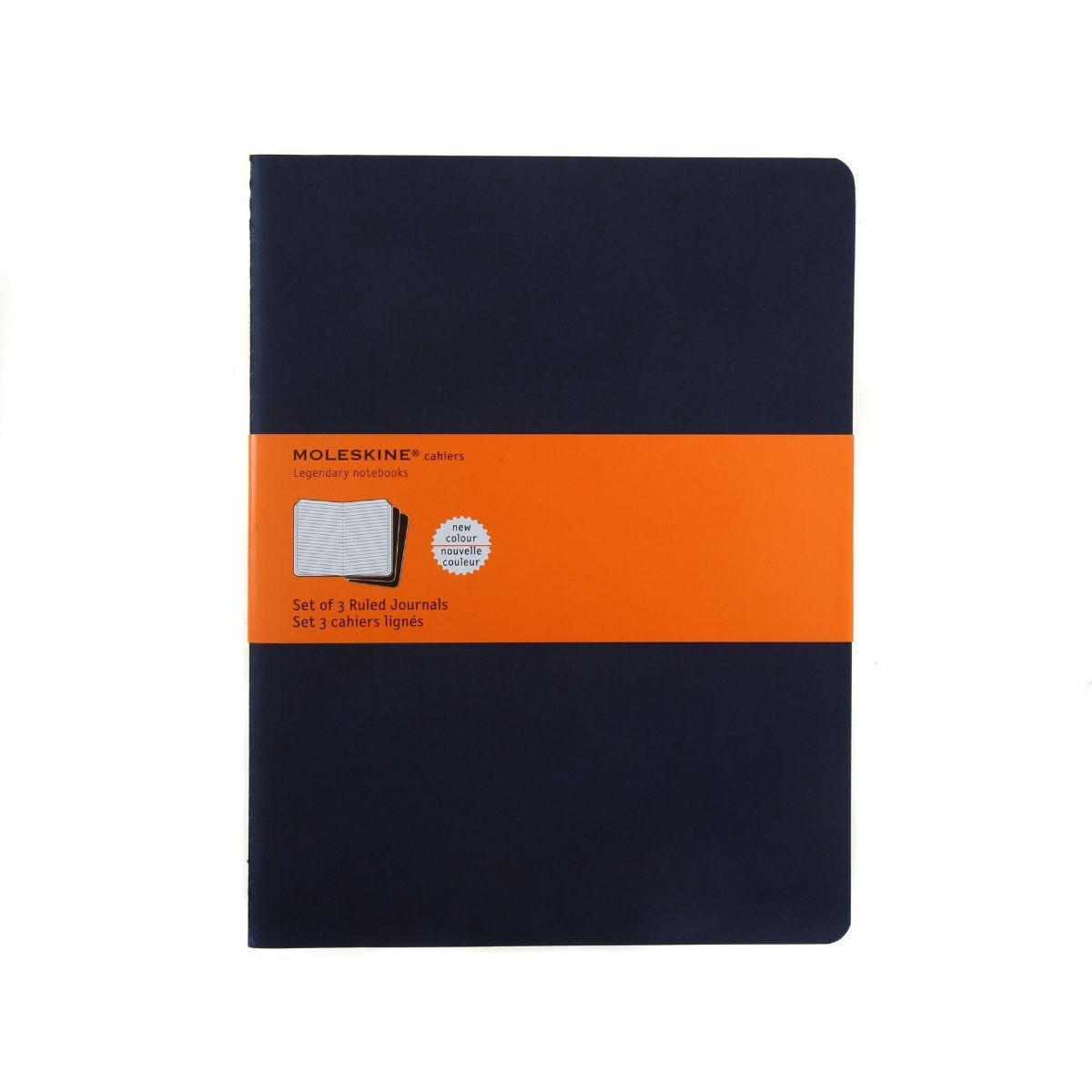 Moleskine Cahier Ruled Notebook Extra Large Pack of 3 Soft Cover
