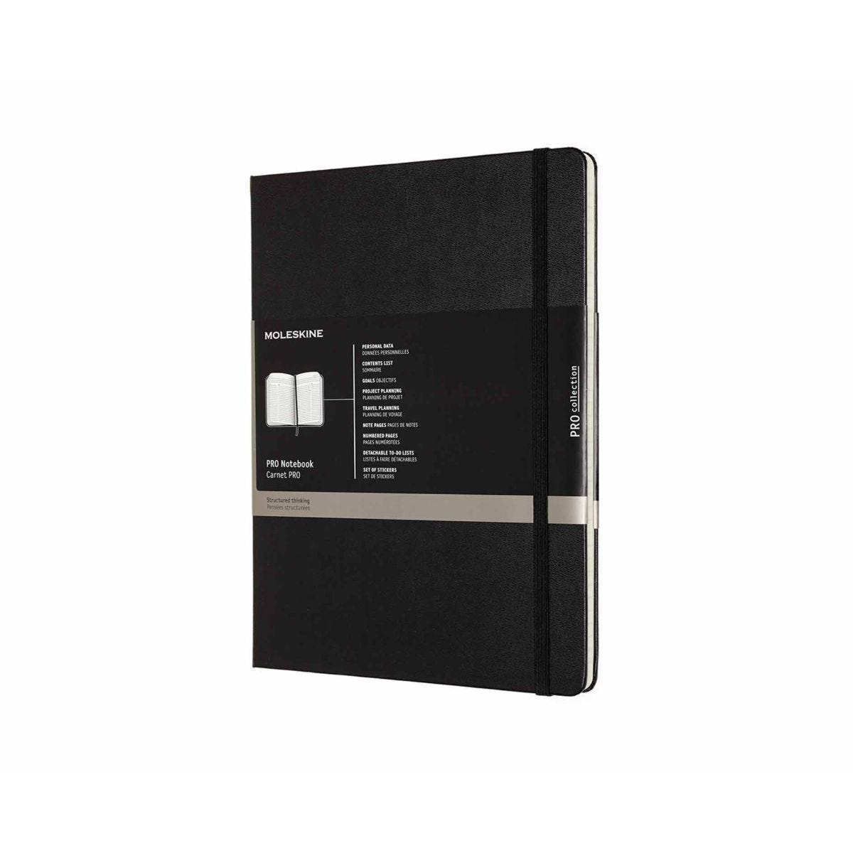Moleskine Professional Notebook Hard Cover Extra Large