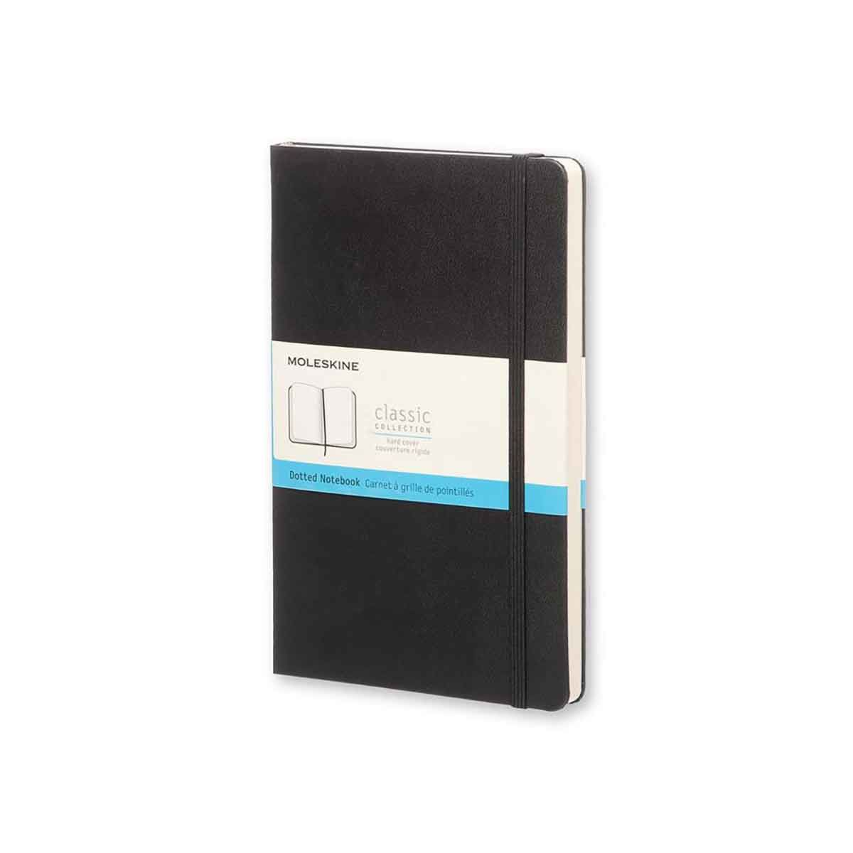 Moleskine Dotted Notebook Hardcover Large Black