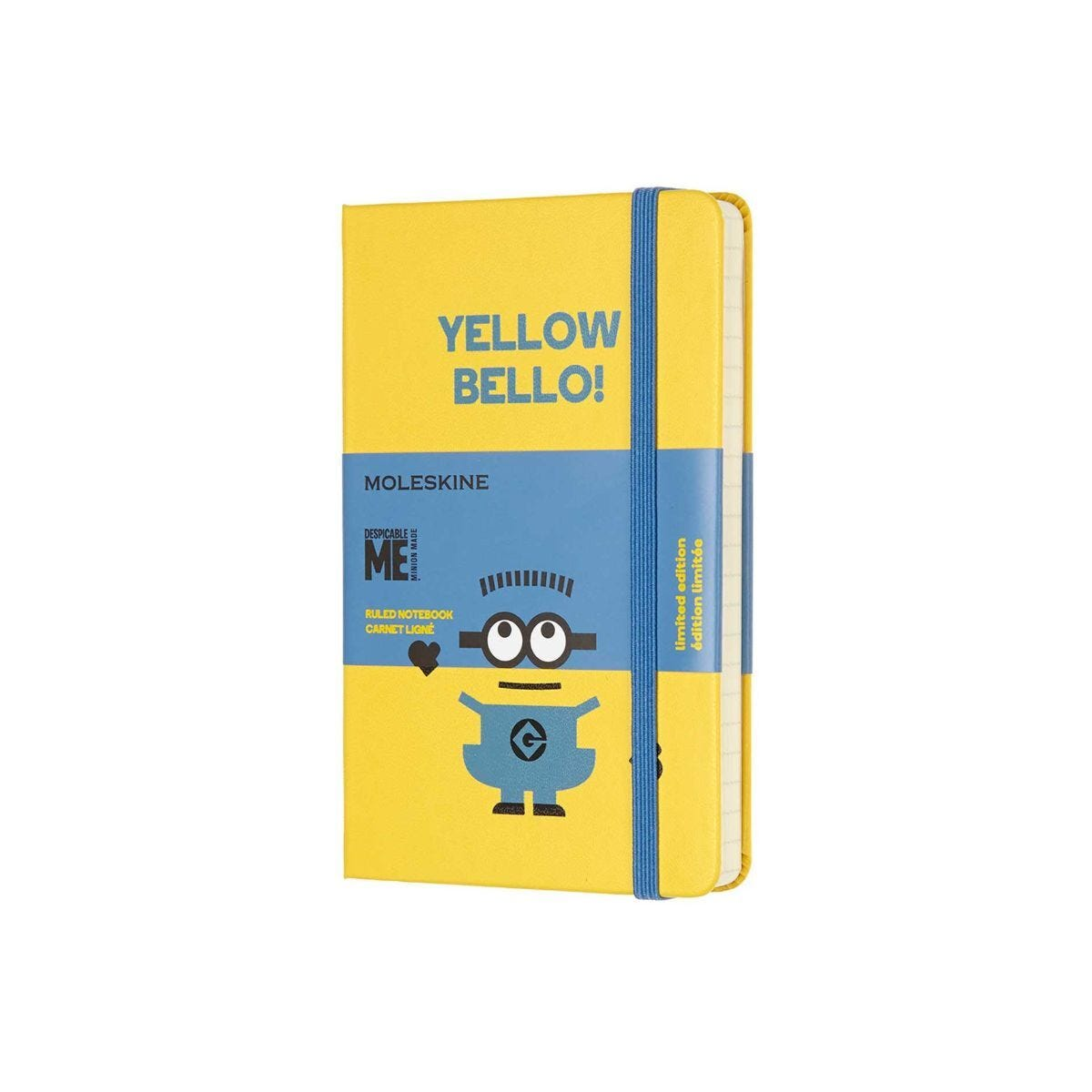 Moleskine Special Edition Pocket Ruled Notebook Minions Yellow
