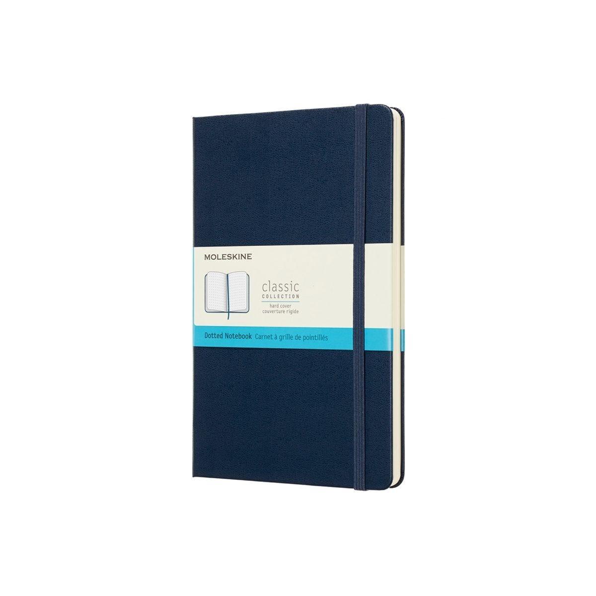 Moleskine Dotted Notebook Hardcover Large Dark Blue
