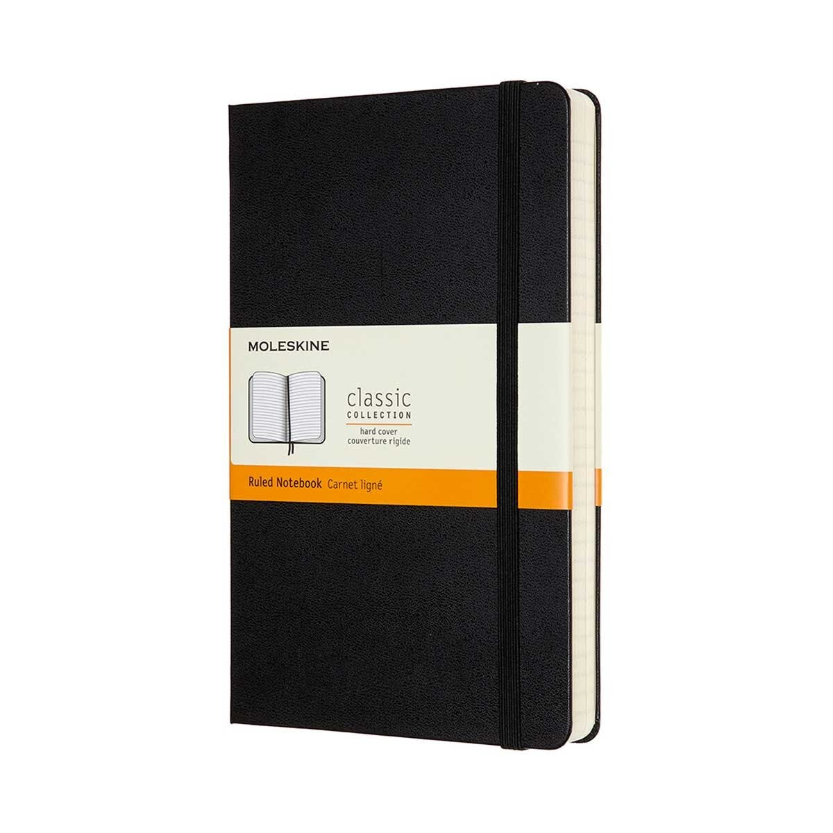 Moleskine Classic Expanded Hardcover Notebook Large Ruled
