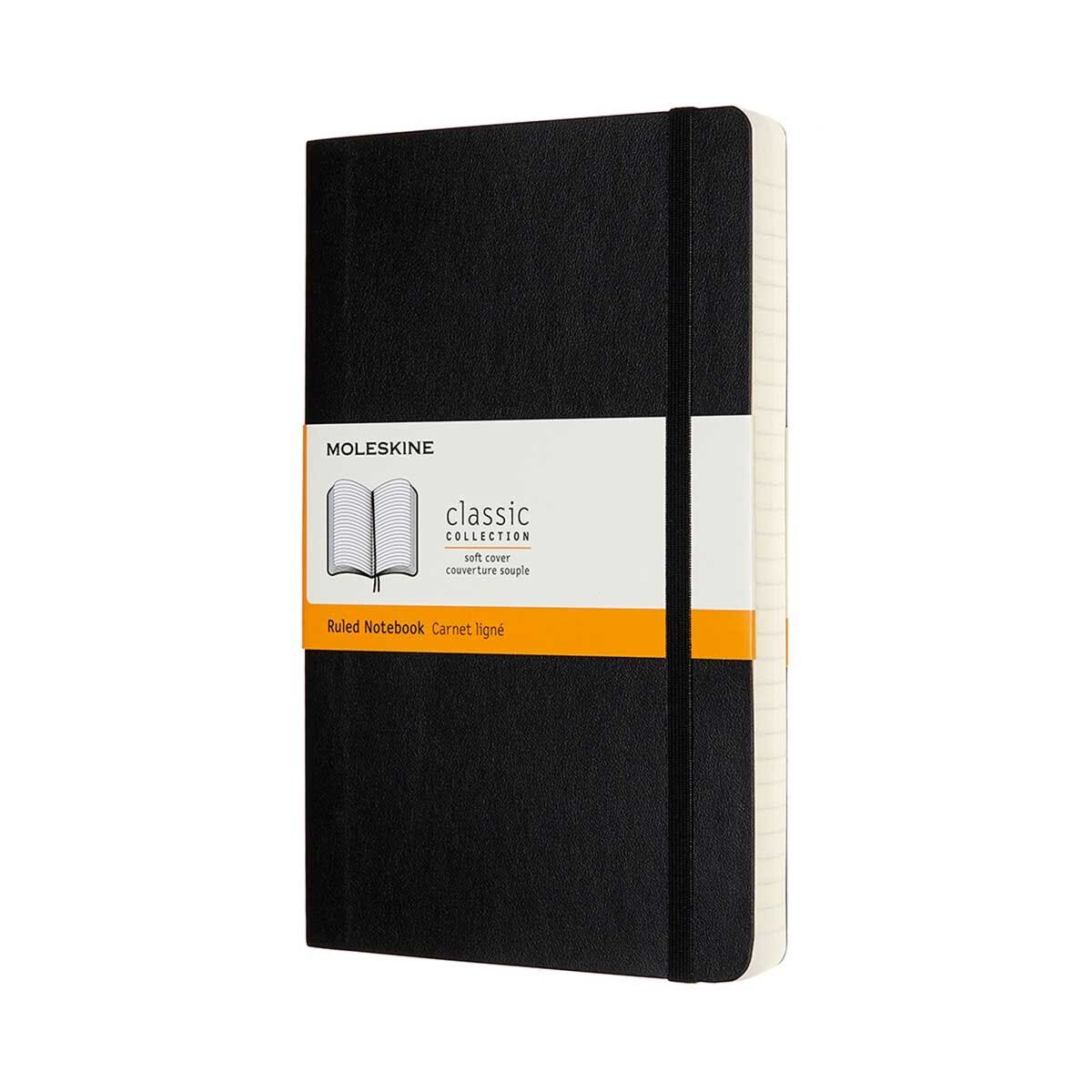 Moleskine Classic Expanded Soft Cover Notebook Large Ruled