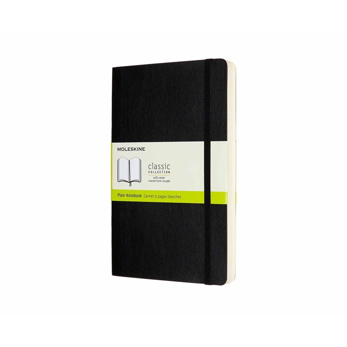 Moleskine Classics Expanded Soft Cover Notebook Large Plain