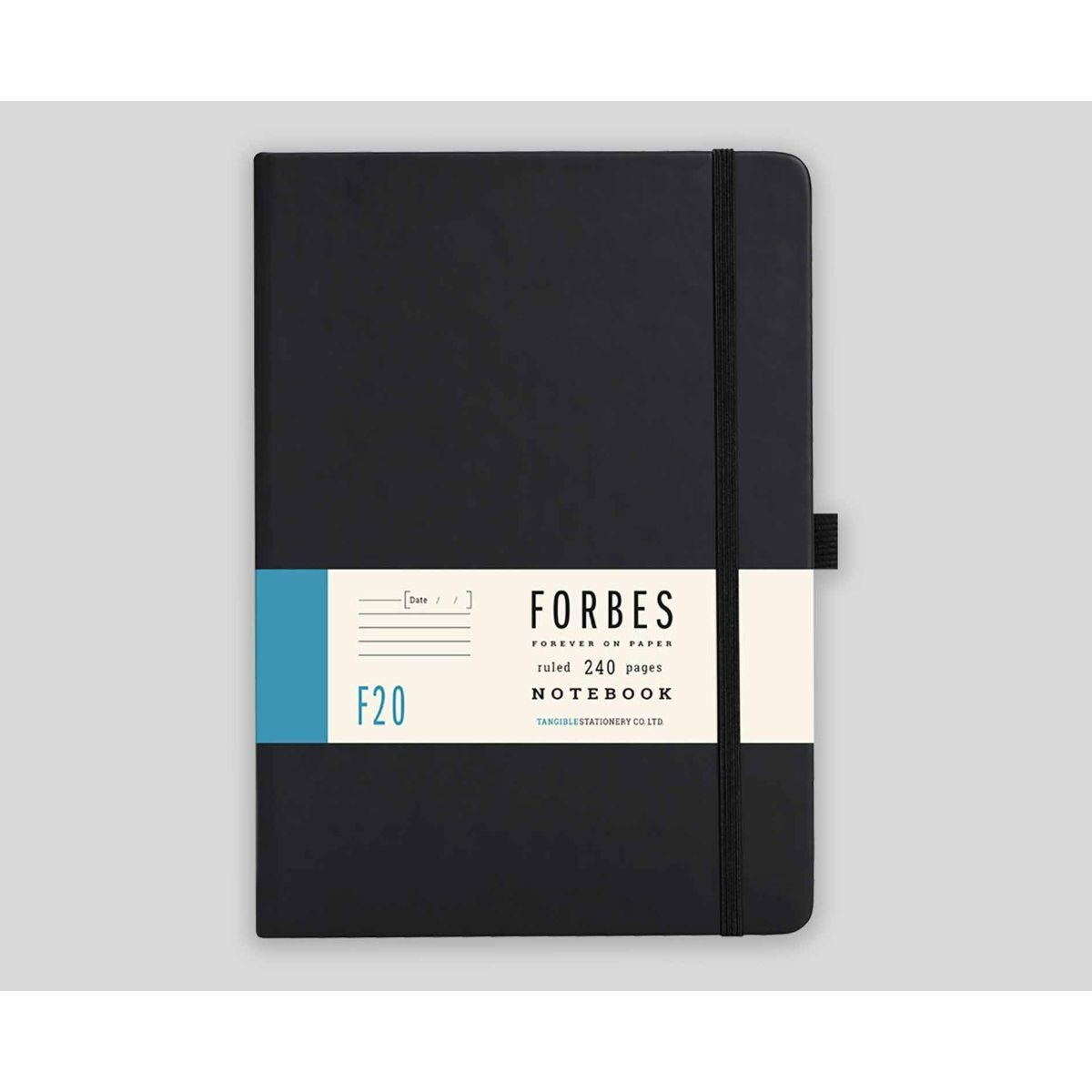 FORBES Classic Hard Cover Notebook Ruled A5 240 Pages