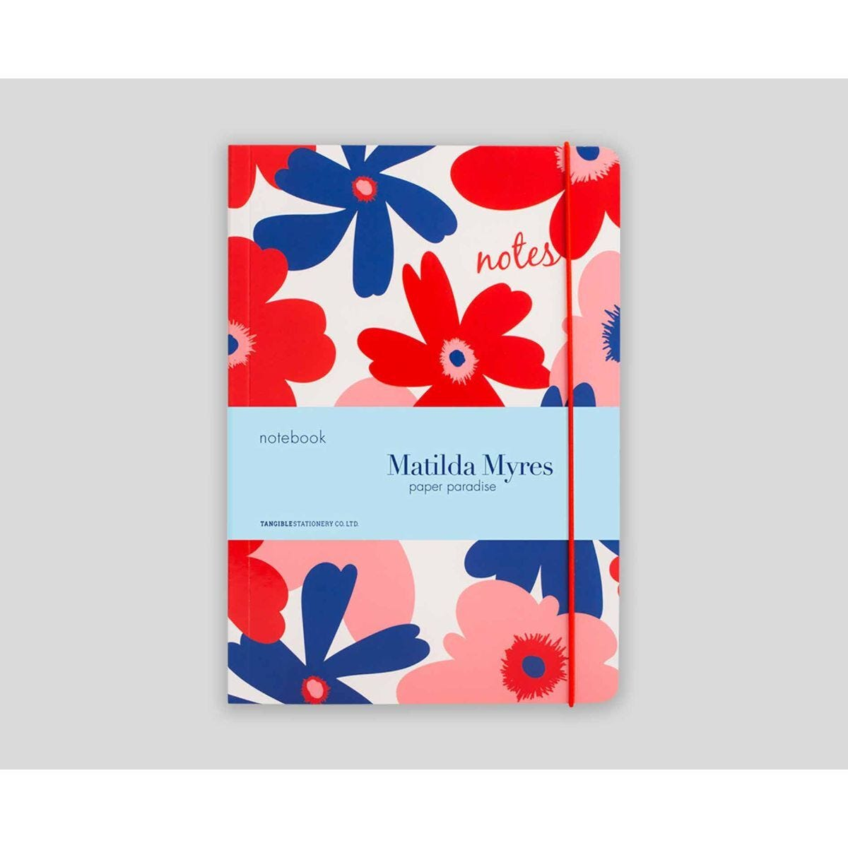 Matilda Myres Floral Notebook Ruled A5 192 Pages