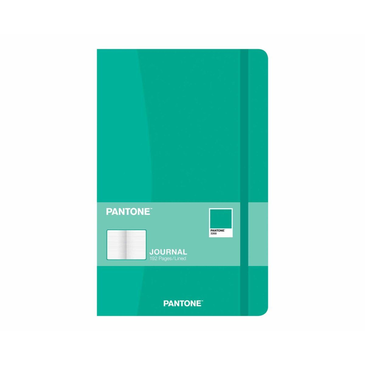PANTONE Compact Journal Ruled 192 Pages Green