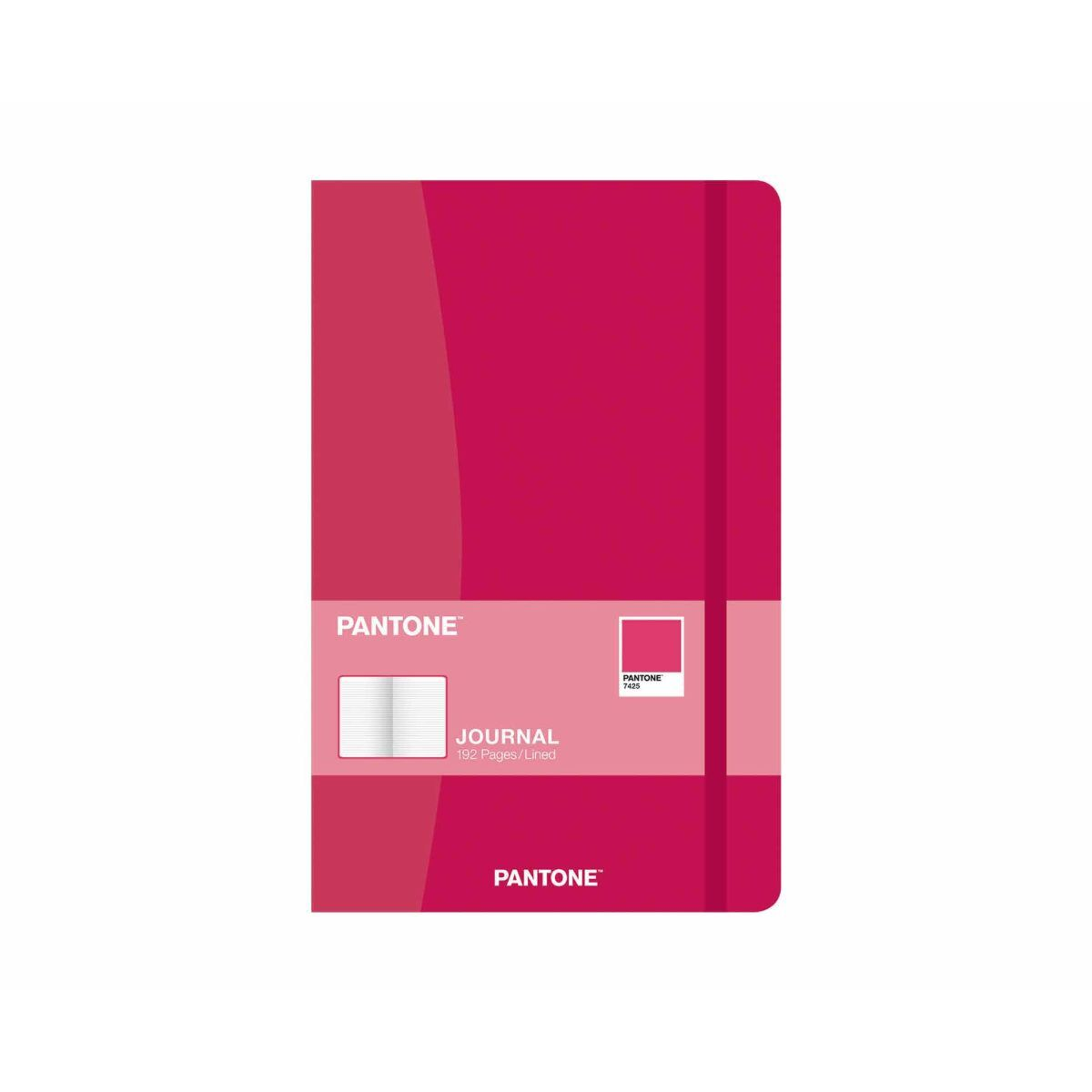 PANTONE Compact Journal Ruled 192 Pages Red