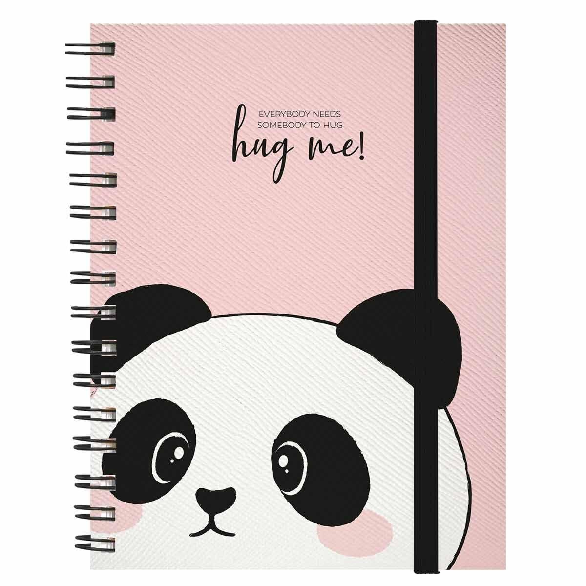 Legami A5 Spiral Notebook Panda