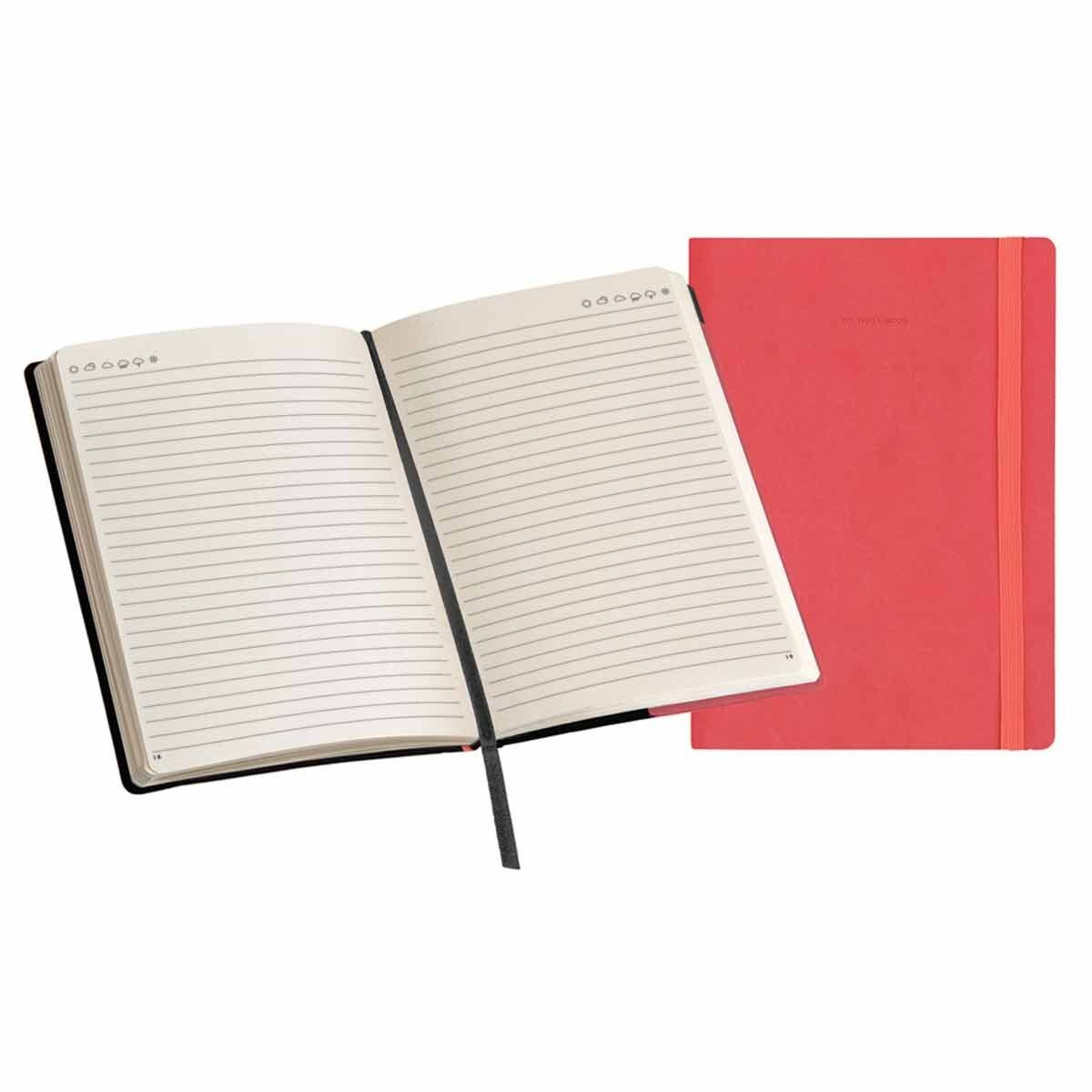 Legami My Notebook Medium Lined Coral