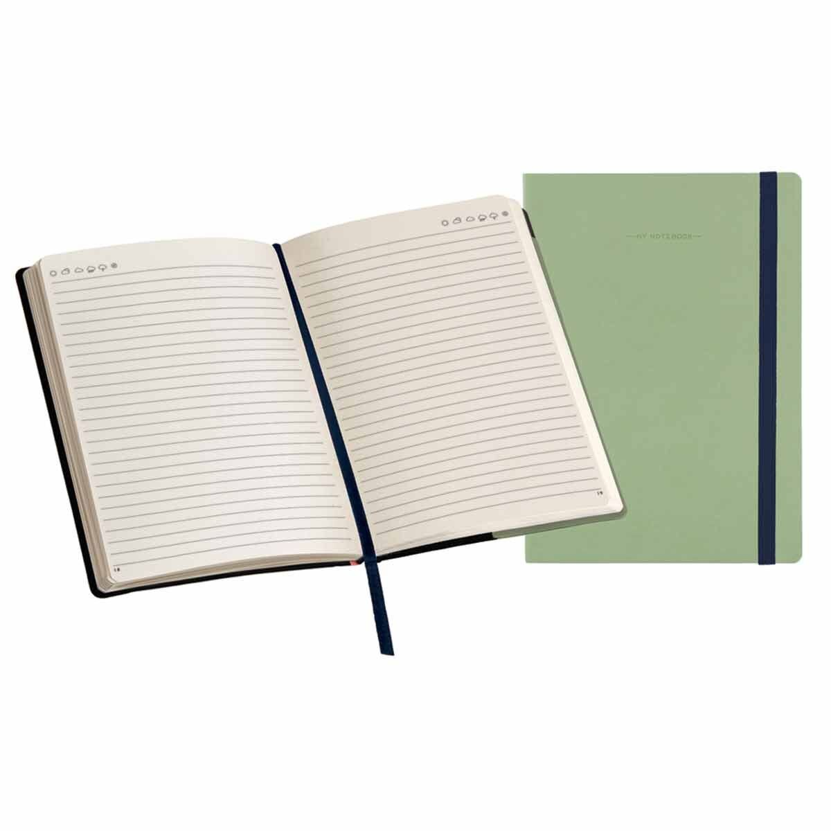 Legami My Notebook Large Lined Green