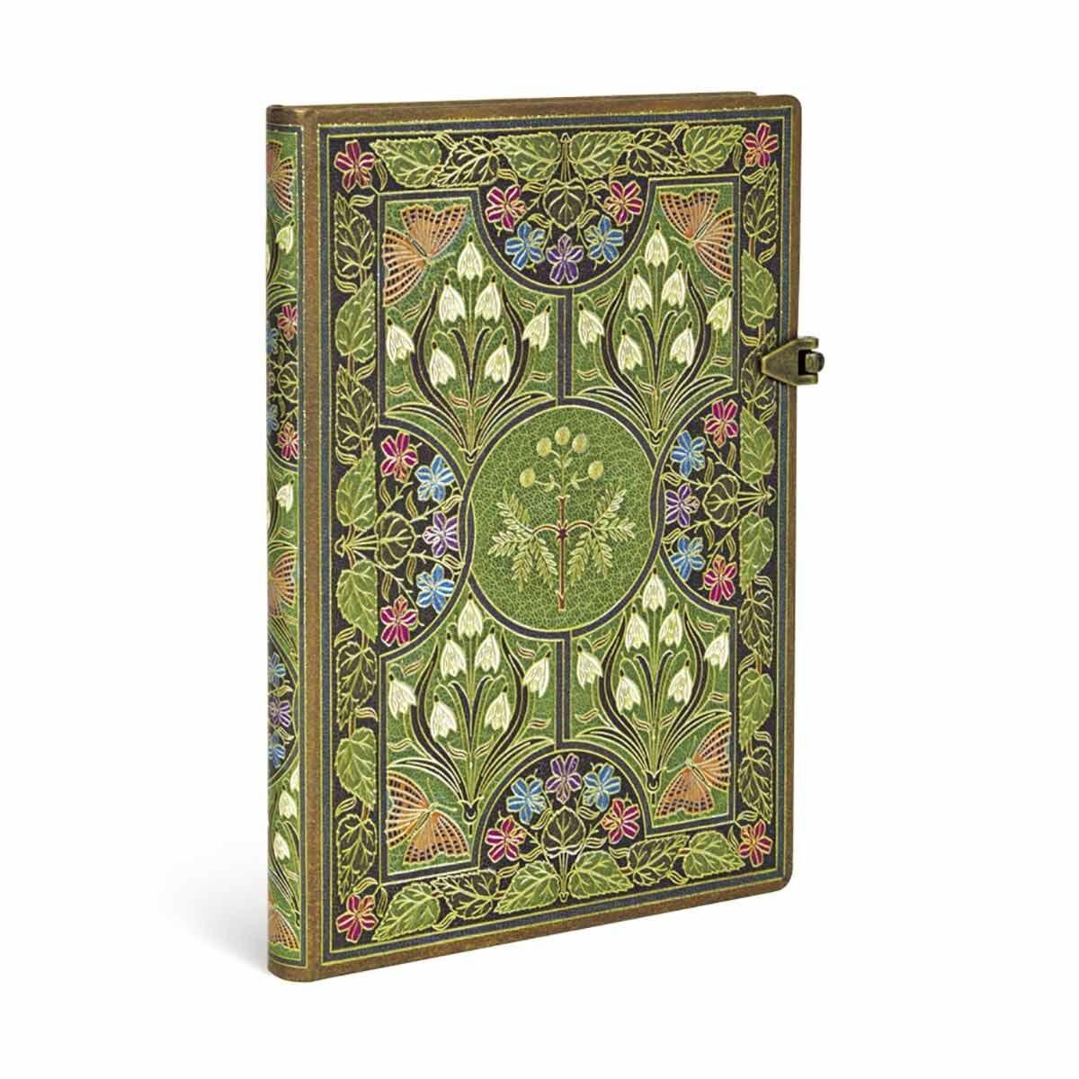 Paperblanks Journal Poetry in Bloom Midi