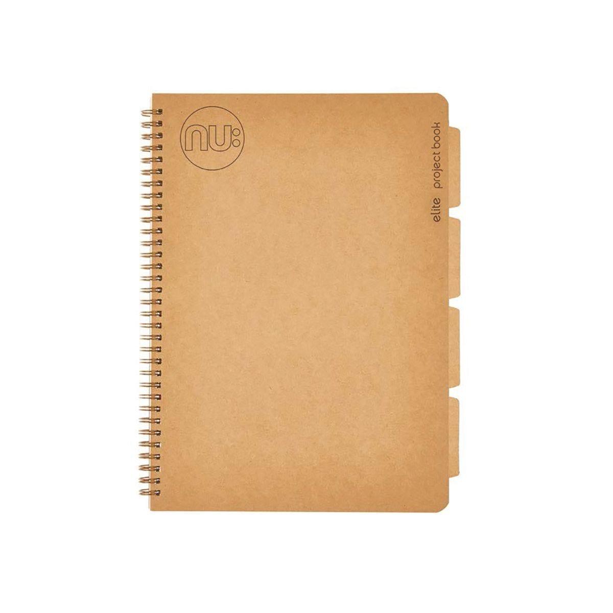 NU Elite Kraft Project Book A5